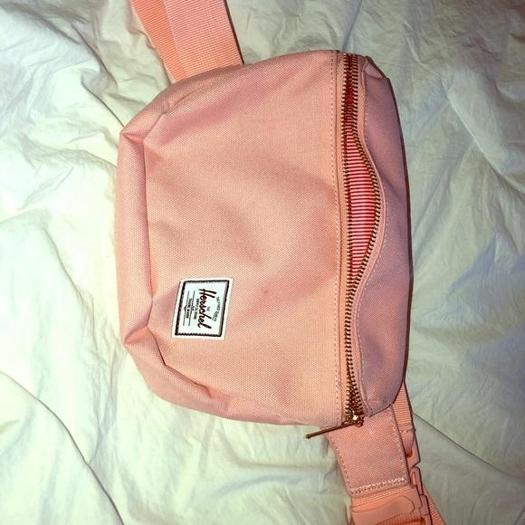 90c7bf74d18 Herschel Supply Company Handbags - Herschel Fanny Pack - Salmon Pink